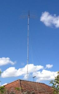 Telomast mount