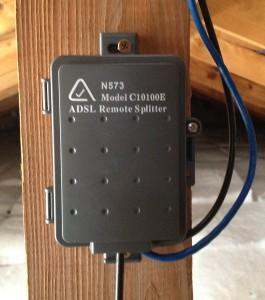 An ADSL Central Filter