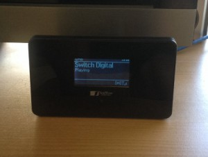 A Nextwave Digital DAB-390, capable of both Digital and Internet Radio