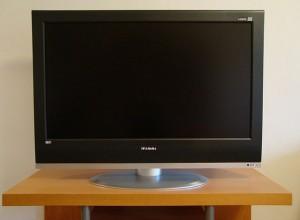An LCD TV