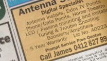 Newspaper classifieds