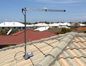 Typical Brisbane Digital TV Antenna