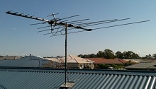 Typical Brisbane pre-Digital antenna