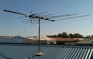 18 Element VHF/UHF Combination Yagi